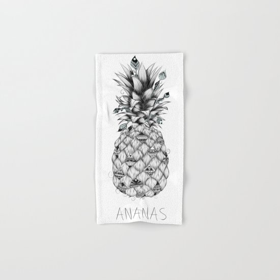 Ananas Hand & Bath Towel