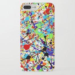 Splat! 1 (Rainbow) iPhone Case