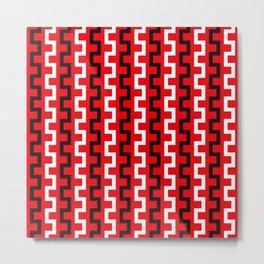 Red line flow Metal Print