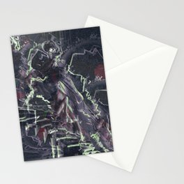 Beware a calm surface—you never know what lies beneath. Stationery Cards