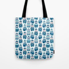Matrioshkas Pattern Tote Bag