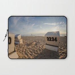 Beach Chair #2 Laptop Sleeve