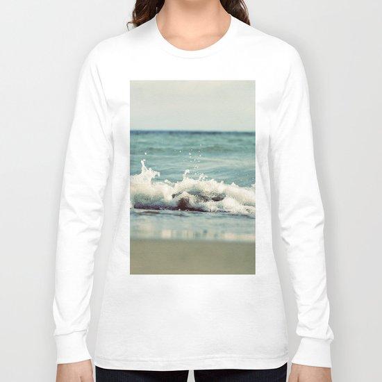 Mint Splash Long Sleeve T-shirt