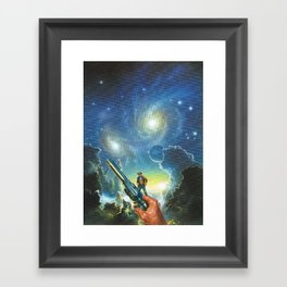 The Wild West Guide To The Galaxy # 189 Framed Art Print