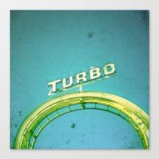 Turbo Canvas Print