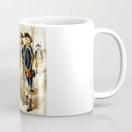 Infantry Of The Revolutionary War Coffee Mug