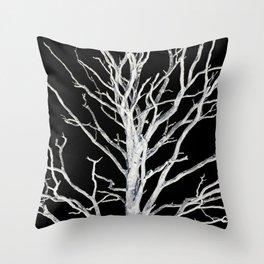 Spooky Trees IV Throw Pillow