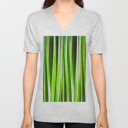 Tropical Green Riverweed Unisex V-Neck