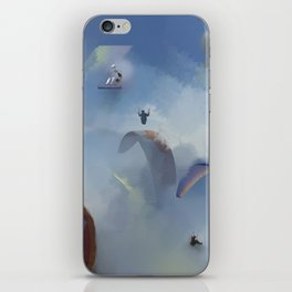 Dream Gliding iPhone Skin