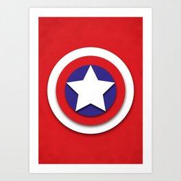 American Hero Art Print