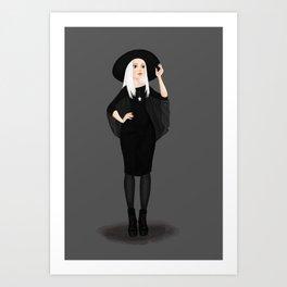 Pearlwitch Art Print