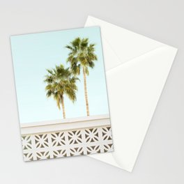 Palm Springs Breeze Block I Stationery Cards