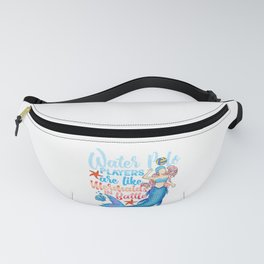 Water Polo Players Are Like Mermaids In Battle Fanny Pack
