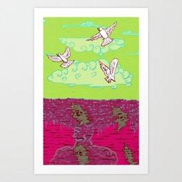 Peace & War Art Print