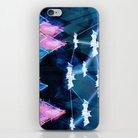 bats iPhone & iPod Skins featuring bats by Itsybats