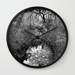 crick, austin texas Wall Clock