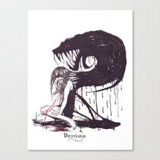 Demissio Canvas Print
