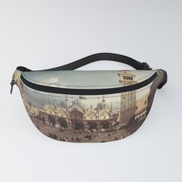 Canaletto - Piazza San Marco, Venice Fanny Pack