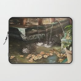 Andalusian garden of the house of the painter Sorolla in Madrid Laptop Sleeve