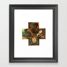 Religion (original) Framed Art Print