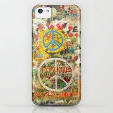 Peace Sign - Love - Graffiti Slim Case iPhone 5c