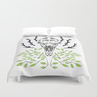 moose Duvet Covers featuring Moose by Margrethe Pedersen