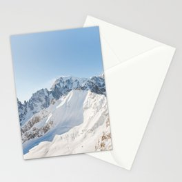 Monte Bianco / Mont Blanc mountain's beauty Stationery Cards