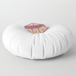 Eat Sleep Theater Repeat - Theater And Performing Arts Floor Pillow