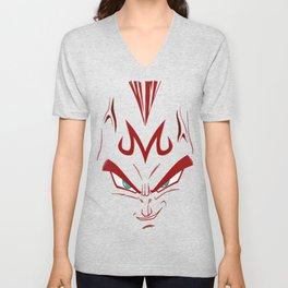 Vegeta majin face Unisex V-Neck