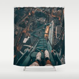 on top Canada Shower Curtain