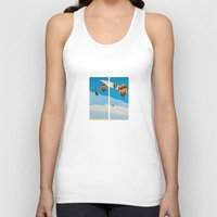 hot air balloons Tank Tops featuring Hot Air Balloons by Shelley Chandelier