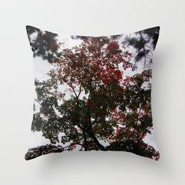 Art Drops in the Air (Japan) Throw Pillow