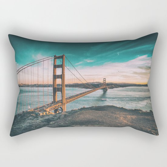 Golden gate bridge 4 Rectangular Pillow
