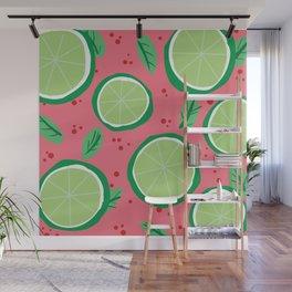 Lime Pop Wall Mural
