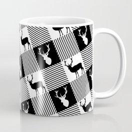 Buffalo Plaid Stag Party Coffee Mug