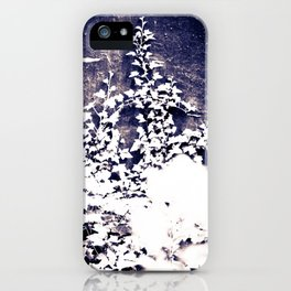 Ivy & Weeds on the Wall iPhone Case