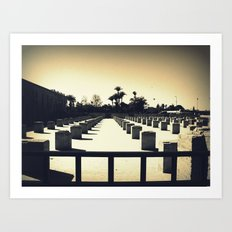Koutoubia in Marrakesh Art Print