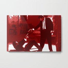 Minimalistic Reservoir dogs Metal Print