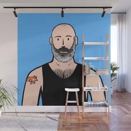 Beard Boy: Philippe Wall Mural