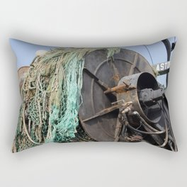 Astoria Fishing Boat Rectangular Pillow