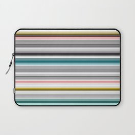 grey and colored stripes Laptop Sleeve