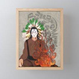 FireSide Framed Mini Art Print