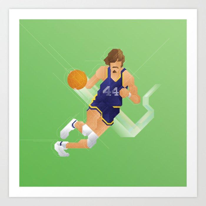 Pixel Pete Art Print