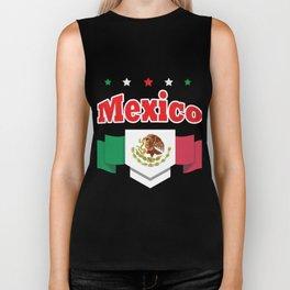 World Football 2018 Mexico Biker Tank