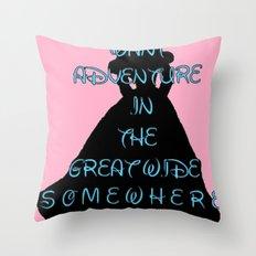 Princess Belle Throw Pillow