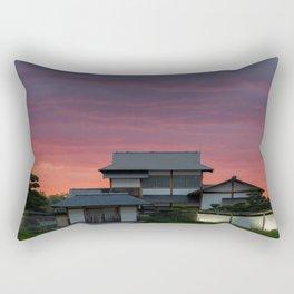 Japanese Gardens Rectangular Pillow