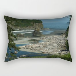 Morning At The Seaside Rectangular Pillow