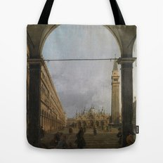 Piazza San Marco by Canaletto Tote Bag