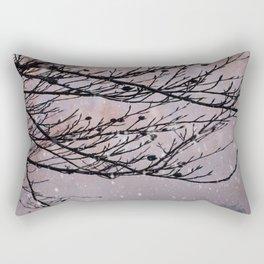 Dusky Winter Days Rectangular Pillow