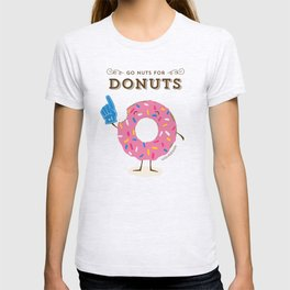 Go Nuts For Donuts T-shirt